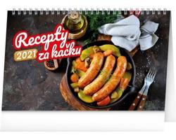 Stolní kalendář Recepty za kačku 2021