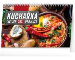 Stolní kalendář Kuchařka (ne)jen pro muže 2021