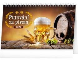 Stolní kalendář Putování za pivem 2021