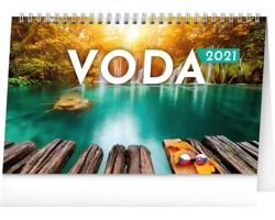 Stolní kalendář Voda 2021 - česko-slovenský