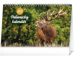 Stolní kalendář Poľovnícky 2021 - slovenský