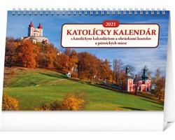 Stolní kalendář Katolícky 2021 - slovenský