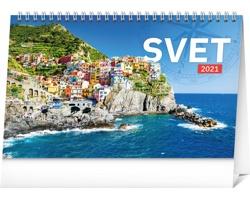 Stolní kalendář Svet 2021 - slovenský