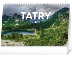 Stolní kalendář Tatry 2021 - slovenský
