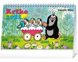 Stolní kalendář Krtko 2021 - slovenský