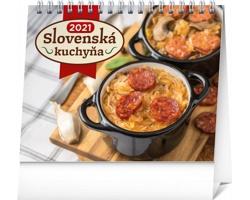 Stolní kalendář Slovenská kuchyňa 2021 - slovenský
