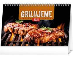 Stolní kalendář Grilujeme 2021 - slovenský