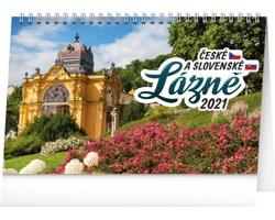 Stolní kalendář České a slovenské lázně 2021