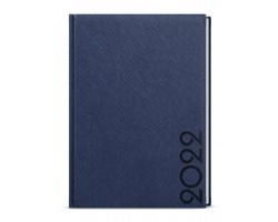 Denní diář Adam Tora 2022, B6 - modrá