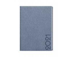Denní diář Adam Tora 2021, B6 - modro-šedá
