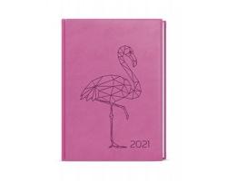 Denní diář Adam Vivella s ražbou 2020, B6 - srdce