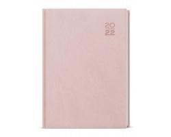 Denní diář Ctirad Vivella 2022, A5 - pastelová růžová