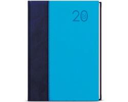 Denní diář David Kombi 2020, A5 - modrá / modrá