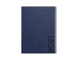 Denní diář David Tora 2020, A5 - modrá