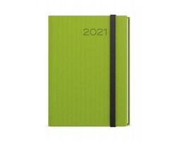 Denní diář David Vigo 2021, A5 - zelená