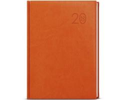 Denní diář David Vivella 2020, A5 - oranžová