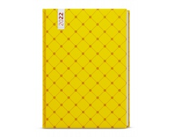 Denní diář David Lamino 2022, A5 - žlutý