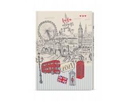 Denní diář David Lamino 2021, A5 - Anglie