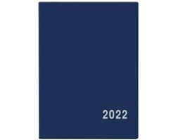 Kapesní týdenní diář Hynek PVC 2022, 6x8 cm - modrá