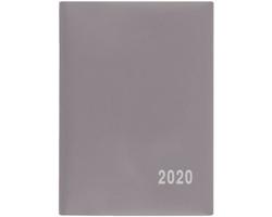 Kapesní týdenní diář Hynek PVC 2020, 8x6cm - šedá