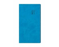 Kapesní týdenní diář Jakub Vivella 2020, A6 - světle modrá