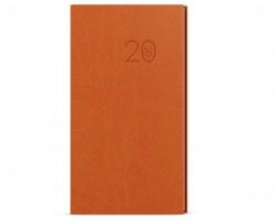 Kapesní týdenní diář Jakub Vivella 2020, A6 - oranžová