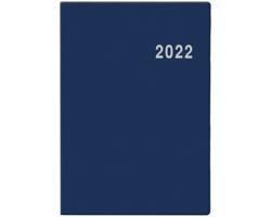 Kapesní týdenní diář Ladislav PVC 2022, 7x10 cm - modrá