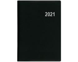 Kapesní týdenní diář Ladislav PVC 2020, 10x7cm - černá