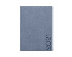Týdenní diář Oskar Tora 2021, A5 - modro-šedá
