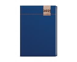Týdenní diář Oskar Denim 2021, A5 - modrá