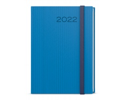 Týdenní diář Oskar Vigo 2022, A5 - modrá