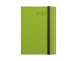 Týdenní diář Oskar Vigo 2021, A5 - zelená