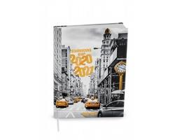 Týdenní diář Student V8 2021, 10x14 cm - New York