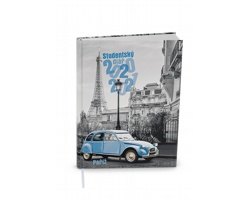 Týdenní diář Student V8 2021, 10x14 cm - Paříž