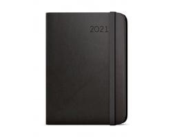 Týdenní diář Zoro Flexi 2021, A5 - černá