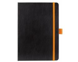 Denní diář Nero 2020, A5 - černá / oranžová