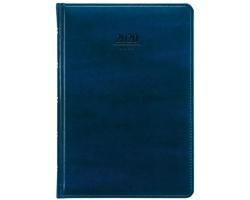 Denní diář Atlas 2020, A5 - modrá