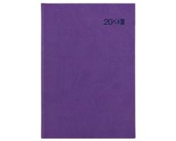 Denní diář Viva 2020, A5 - fialová