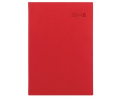 Týdenní diář Viva 2020, A5 - červená
