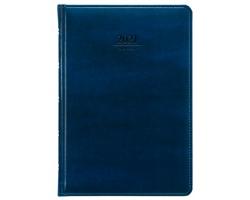 Denní diář Atlas 2021, A5 - modrá