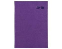 Denní diář Viva 2021, A5 - fialová
