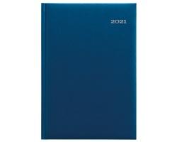 Denní diář Kronos 2021, A5 - modrá