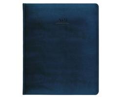 Týdenní diář Atlas Prezident 2021, 21x26 cm - modrá