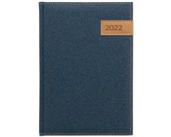 Denní diář Denim 2022, A5 - modrá