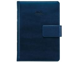 Denní diář Atlas s poutkem 2022, A5 - modrá