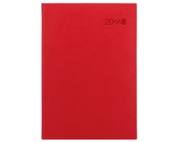 Denní diář Viva 2022, A5 - červená