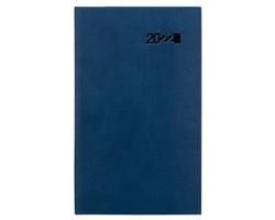 Kapesní týdenní diář Viva 2022, 9x15 cm - modrá