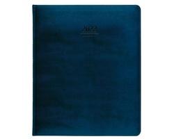 Týdenní diář Atlas Prezident 2022, 21x26 cm - modrá
