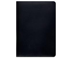 Poznámkový notes Carus čtverečkovaný, A5 - černá