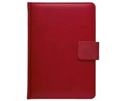 Poznámkový notes čtverečkovaný Gemma, A5 - červená